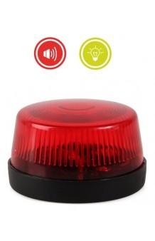Sirena Roja, con Luz y Sonido