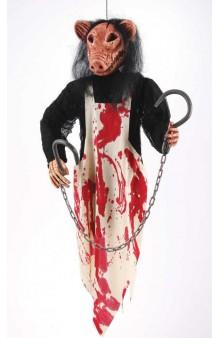 Colgante Cerdo Asesino, 91 cm. AGOTADO.