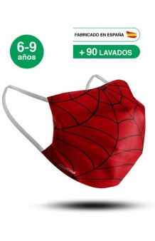 Mascarilla Spiderman Infantil (UNE 0065:2020)