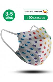 Mascarilla Estrellas Infantil (UNE 0065:2020)