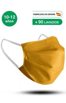 Mascarilla Amarilla Infantil (UNE 0065:2020)