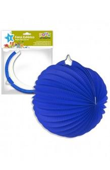 Farol Azul Oscuro, 25 cm.
