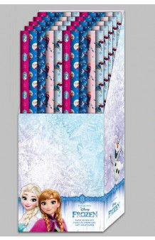 Rollo Papel Regalo Frozen, 200 x 70 cm.