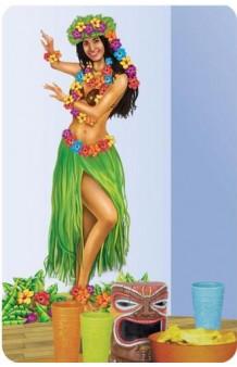 Póster Chica Hawaiana
