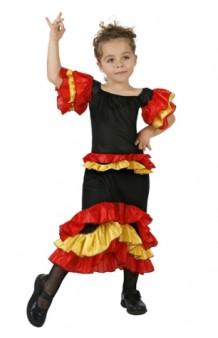Disfraz Rumbera Tricolor