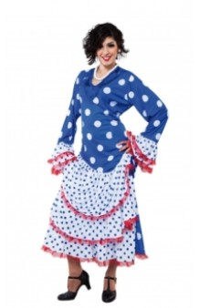 Disfraz Flamenca Azul