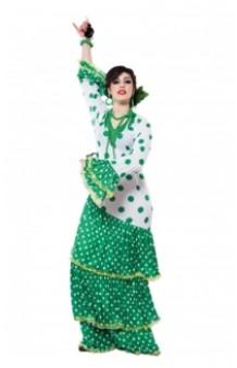 Disfraz Flamenca Verde