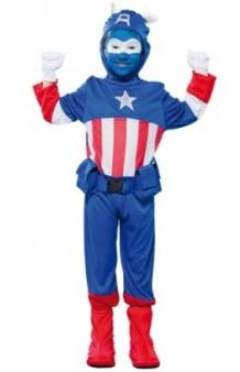 Disfraz Capitán Azul 7-9 años