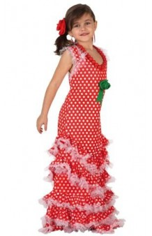 Disfraz Flamenca Roja