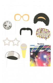 Set Photocall Disco (9 artículos)