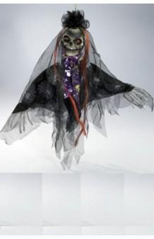 Colgante Calavera Negra