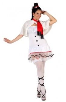 Disfraz Muñeca de Nieve T. M-L