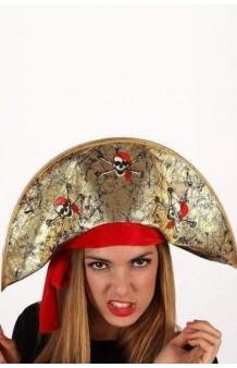 Sombrero Corsario Dorado