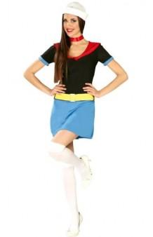 Disfraz Mujer Popeye T. U