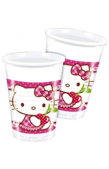 Vasos Hello Kitty, 8 uds.