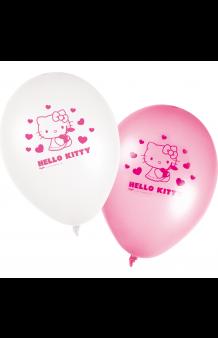 Globos Hello Kitty, 8 uds.