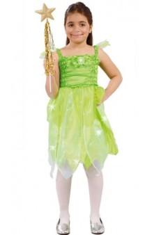 Disfraz Hada Verde 4-6 años