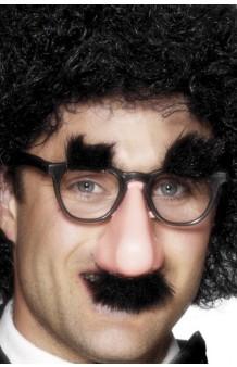 Kit Gafas + Nariz + Cejas + Bigote Groucho Marx