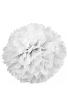 Pom Pom Blanco, 42 cm. (2 uds.)