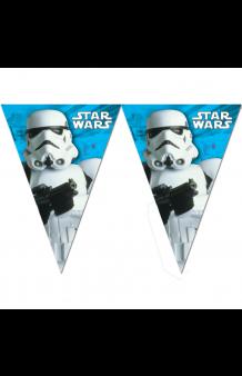 Banderines Star Wars, 230 cm.