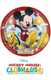 Platos Mickey, 6 uds.