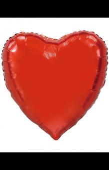 Globo Corazón Rojo XL, 92 cm.