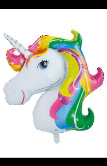 Globo Unicornio, 126 cm.