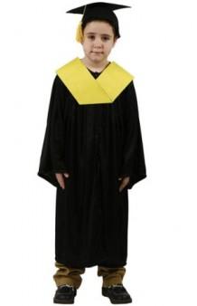 Disfraz Graduado Amarillo