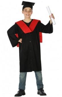 Disfraz Graduado Rojo