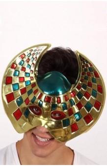 Máscara Galáctica Oro PVC