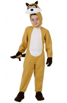 Disfraz Mapache 7-9 años