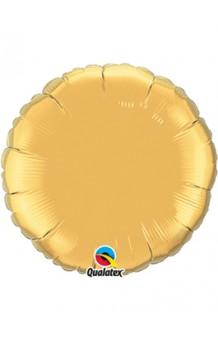 Globo Círculo Dorado, 46 cm. AGOTADO.