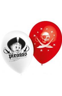 Globos Piratas 80 cm. Pro-Quality, 10 uds.