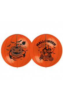 "Globos ""Punch Ball"" Halloween 140 cm. Pro-Quality, 3 uds."