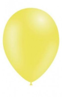 Globos Amarillo Limón 95 cm. Pro-Quality, 50 uds.