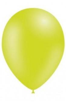 Globos Verde Lima 95 cm. Pro-Quality, 50 uds.