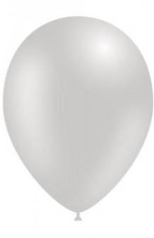 Globos Plateados Metalizados 86 cm. Pro-Quality, 50 uds.