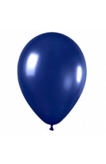 Globos Azul Marino Metalizados 86 cm. Pro-Quality, 50 uds.