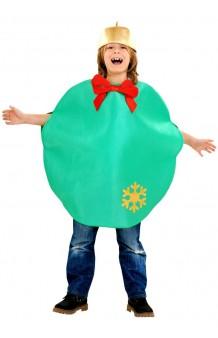 Disfraz Bola Navidad Verde