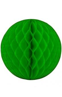 Nido de Abeja Verde, 30 cm.