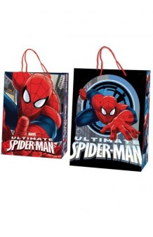 Bolsa Regalo Spiderman, 45 x 33 cm.