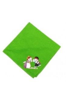 Pañuelo Fallero Verde Pistacho