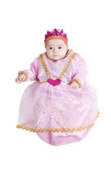 Disfraz Saquito Princesa Rosa (6 meses)