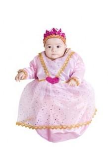 Disfraz Saquito Princesa Rosa 6 meses