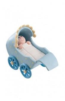 Figura Carrito Bebé Azul
