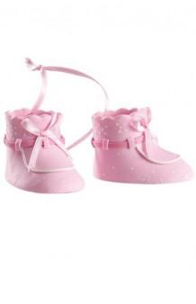 Figura Zapatitos Bebé Rosas