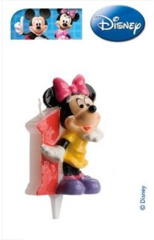Vela Minnie Nº 1