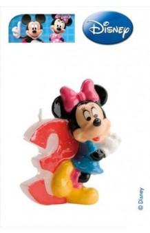 Vela Minnie Nº 3