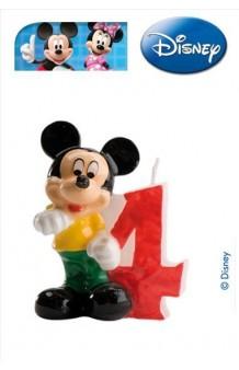 Vela Mickey Nº 4