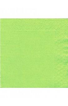 Servilletas Verde Pistacho 40 x 40 cm., 50 uds.